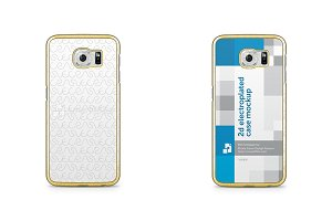 Galaxy S6 2d Electroplated Mobile