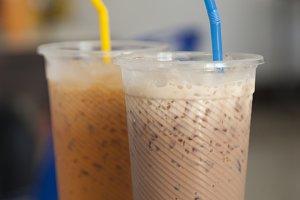 Ice tea and Ice coffee