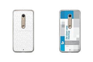 Motorola Moto X Style 2d Clear Case