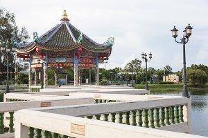 Pavilion chinese style