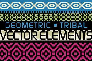 Geometric/Tribal Graphic Elements