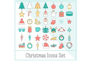 Christmas Icons Set EPS10
