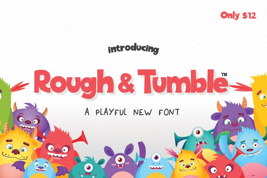 Rough and Tumble Font