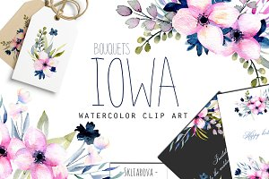 """Iowa"". Spring bouquets."