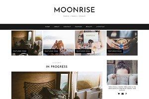 "Wordpress Theme ""Moonrise"""