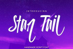 Star Tail Script Font