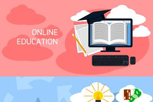 Concept of online education business