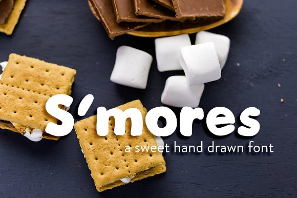 S'mores Hand Drawn Font