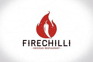Chilli Flame Logo Template