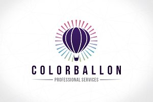 Color Ballon Creative Logo