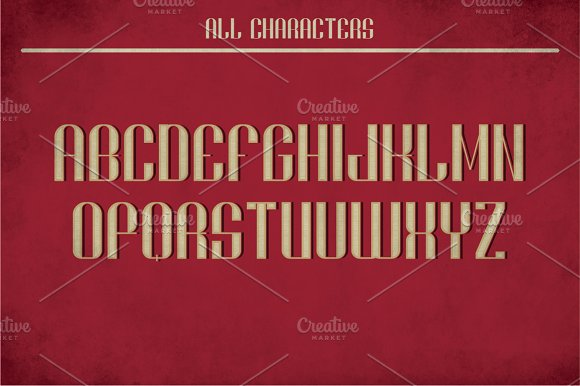 Brighton Vintage Label Typeface in Display Fonts - product preview 1
