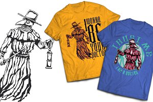 Doctor T-shirts And Poster Labels