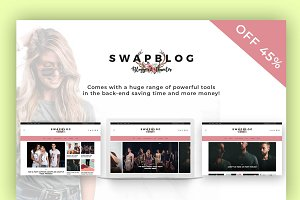 Swapblog - A Blog & Shop WordPress