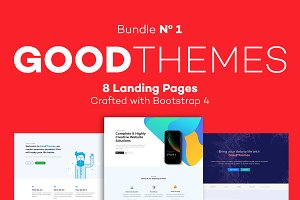 GoodThemes - Landing Pages Bundle 1