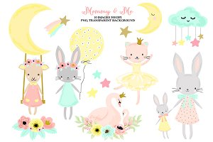 Nursery Woodland Baby Animals