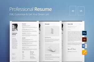 Professional Resume 1 V.W