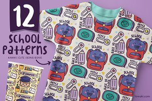 12 back to school patterns