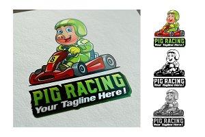 Pig Racing Logo