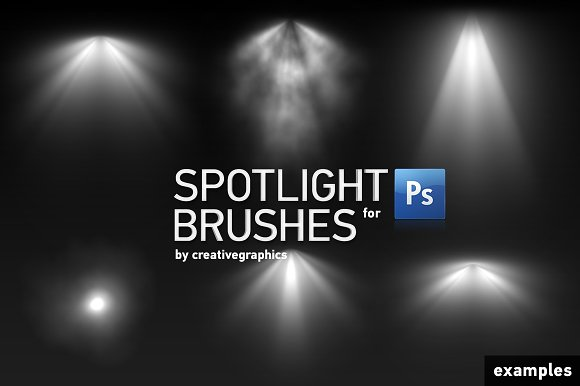 71 HQ Spotlight Brushes For PS Creative Market