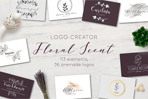 Floral Scent LOGO CREATOR