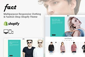Fact - Clothing Shop Shopify Theme