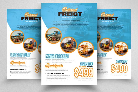 Freight / Shipment Services Flyer