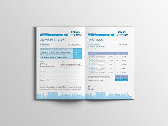Real Estate Proposal Template ~ Brochure Templates ~ Creative Market