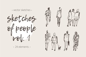 Sketches of different people, vol. 1