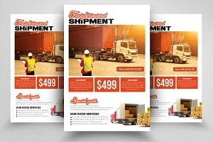 Freight Logistic Services Flyer