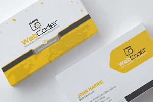 Business Card for Web Agency