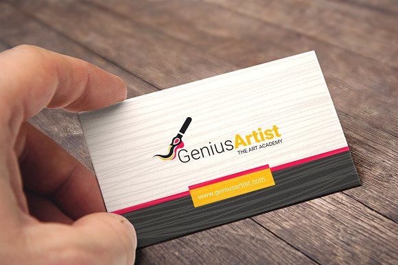 Business Card For Artist Painter