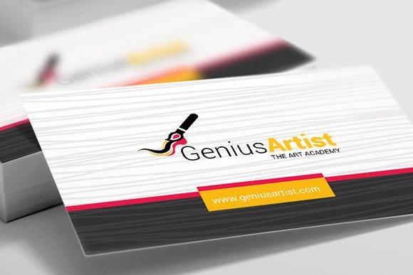 Business Card For Artist Painter Business Card Templates