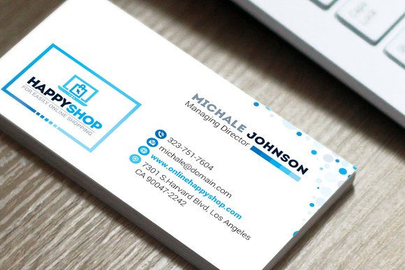 Business card for e commerce shop business card templates business card for e commerce shop business card templates creative market colourmoves