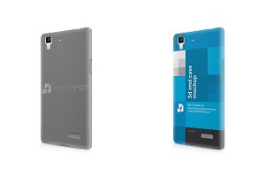 Oppo R7 3d IMD Mobile Case Design Mo