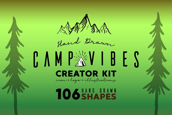 CAMP VIBES Creator Kit