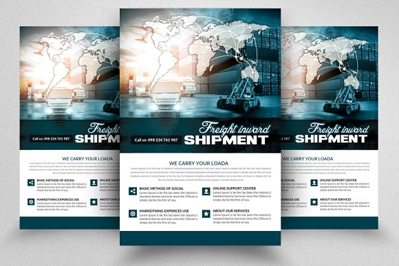 Freight & Logistic Services Flyer