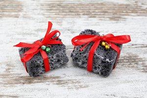 Christmas coal gift
