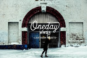 Oneday : Winter Lightroom presets
