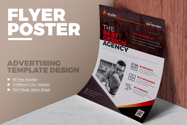 Flyer Template ~ Flyer Templates ~ Creative Market