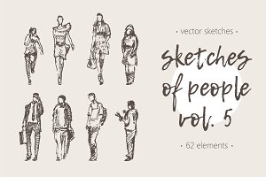 Sketches of different people, vol. 5