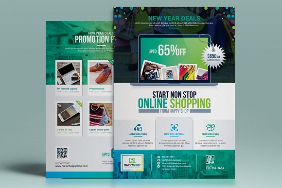 Product Promotional Flyer-Poster in Flyer Templates - product preview 1