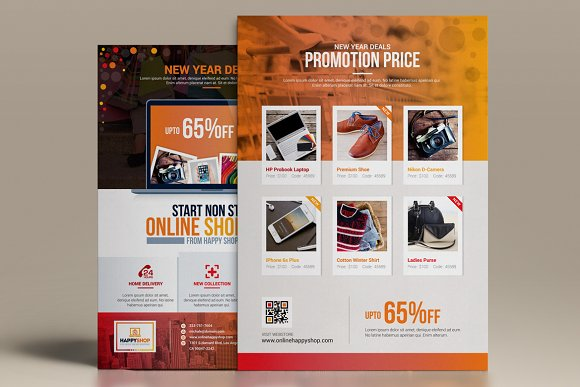 Product Promotional Flyer-Poster in Flyer Templates - product preview 2