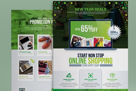 Product Promotional Flyer-Poster in Flyer Templates - product preview 3