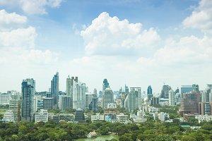 Bangkok city in day.