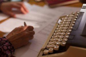 Work with typewrite