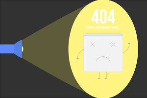 Vector 404 page