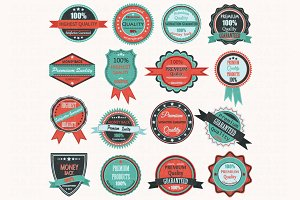 Vintage Badge Label Frame ClipArt