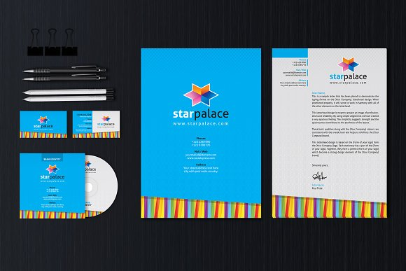 Stationery Identity Template