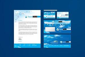 Stationery Branding for Social Media