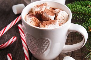 Christmas hot cocoa